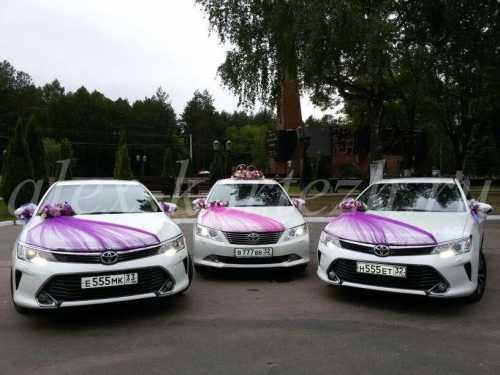 Прокат украшений для свадебных автомобилей