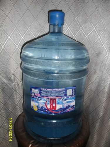Питьевая вода для кулера в бутылях 19 литров