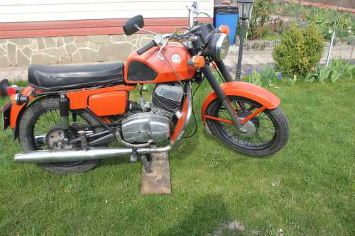 Мотоцикл чезет 350 472.3