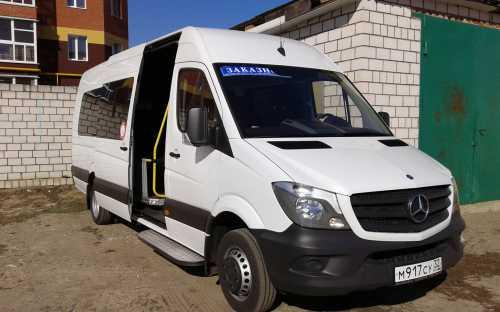 Заказ пассажирского микроавтобуса!!!