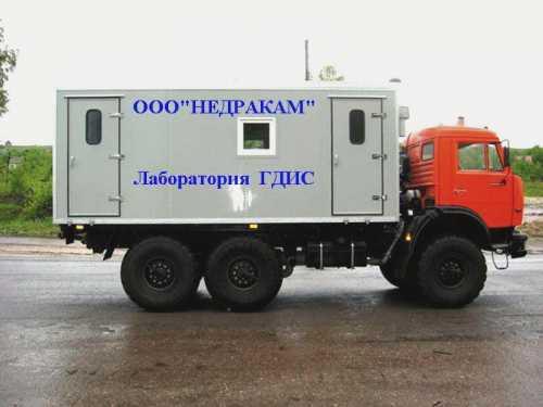 Подъемник исследования нефтегазовых скважин на шасси камаз 4310