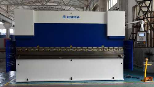 Wek-100т3200 электрогидравлический листогибочный пресс с чпу из китая
