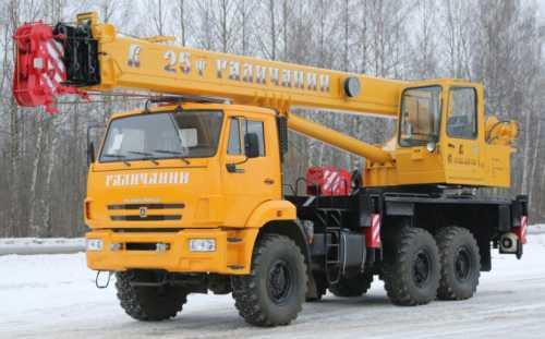 """Автокран 25 тонн кс-55713-4в """"галичанин"""""""