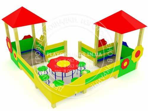 Проектирование и оборудование детских площадок .