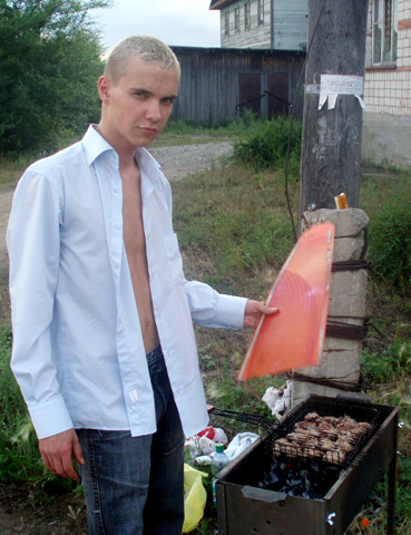 шашлычных дел мастер))
