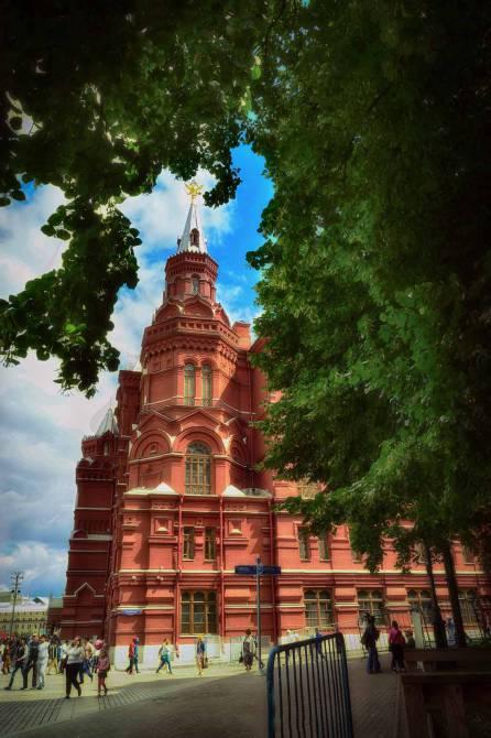Исторический музей.Москва