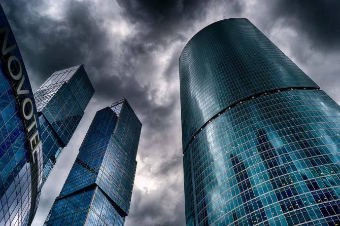 Высотки Москва- сити
