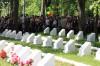 На мемориальном кладбище в Клинцах