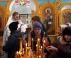На празднике Крещения