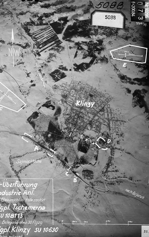 25.1.1944. Аэрофотосъемка Люфтваффе Приблизительный масштаб 1:36000