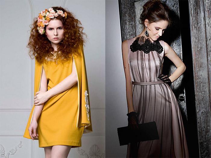 коктейльные платья и вечернее платье в стиле 50-х