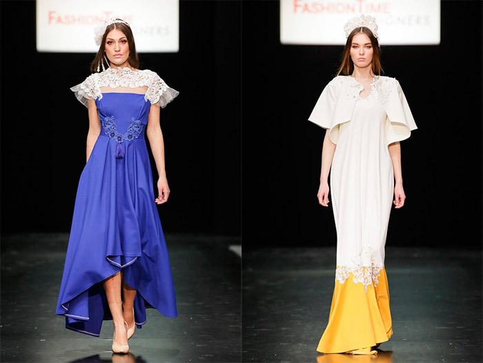 вечернее платье от российского дизайнера и вечернее платье в русском стиле