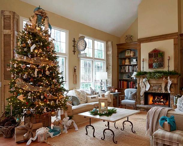 Как декорировать дом к встрече Нового года
