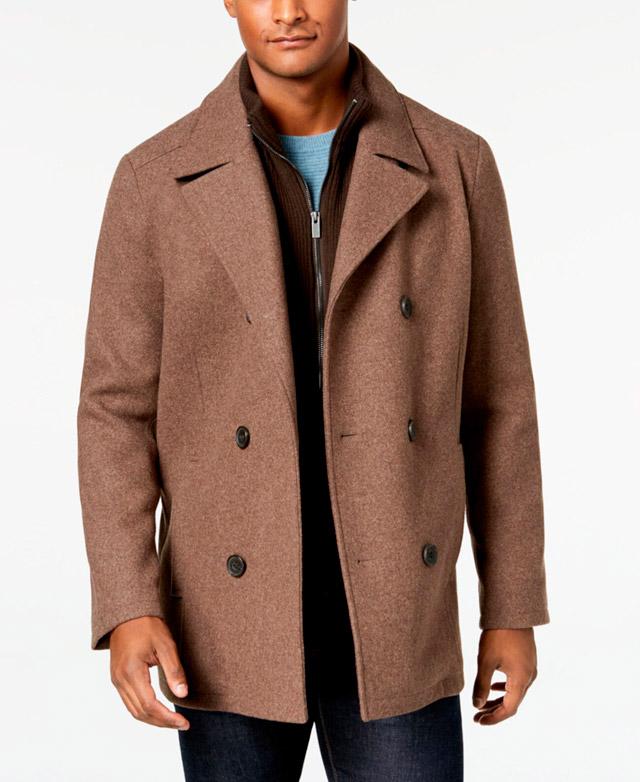 Драповое пальто для мужчин