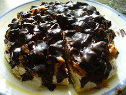 Желатиновый торт
