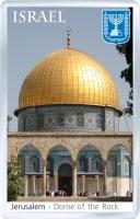 Сувенирный магнит на холодильник: Израиль. Купол Скалы (Иерусалим)