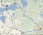 Питер-Финляндия-Таллин и домой через Латвию и Белоруссию. Подготовка