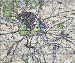 Карта Клинцов и Клинцовского района Генерального Штаба