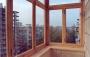 Преимущества деревянного остекления балконов