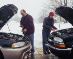 Как завести машину в сильный мороз?