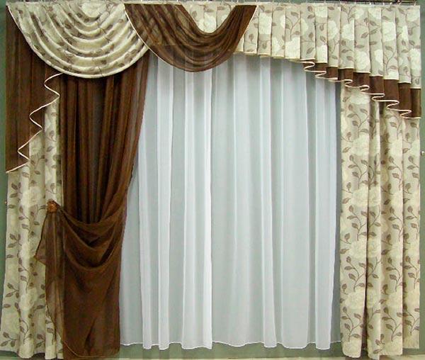 Какие выбрать шторы и ткань для штор