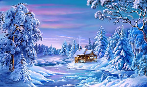 Красивые открытки с рождеством фото