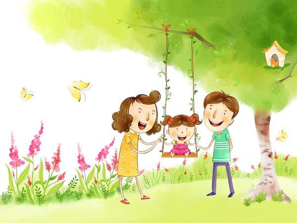 Семья - это счастье, любовь и удача, Семья - это летом поездки на дачу.  Семья - это праздник, семейные даты, Подарки...