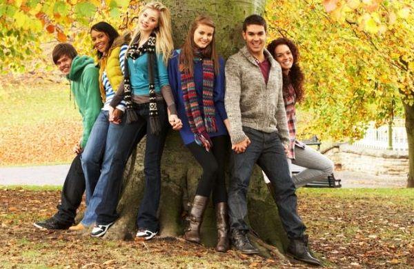 Мода на зиму 2012 для девочек подростков