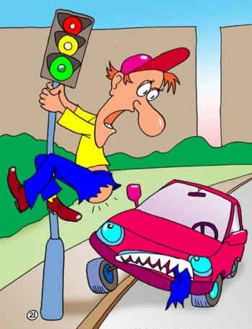 нарушение правил дорожного движения фото