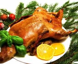 Рождественский гусь. Рецепт приготовления рождественского гуся