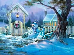 Снег расскажет о будущем. Новогодние гадания
