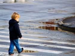 Пресс-релиз: «Пешеход на проезжей части»