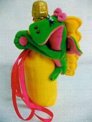 Подарки своими руками. Чехол Дракоша - лучший подарок на 2012 год