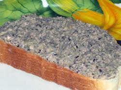 Бутерброды из печени трески
