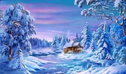 Красивые открытки и поздравления на Старый Новый год