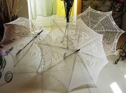 Подарок из прошлого. Кружевной зонт