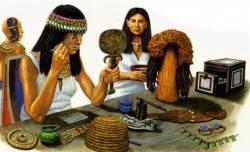 Косметика Древнего Египта. Тушь, краска для волос на www.yonamart.ru