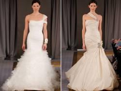 Актуальные свадебные платья 2012 года