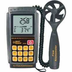Измерение скорости ветра. Цифровые анемометры