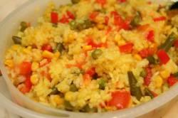 Помидоры с рисом и овощами