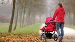 Когда начинать прогулки на улице с ребенком