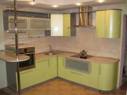 Кухни в популярном стиле хай-тек – новое в дизайне жилища