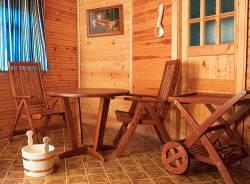 Особенности выбора мебели для бани