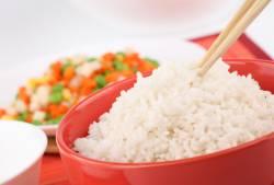 Рис на японском столе