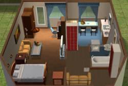 Дизайн интерьера в однокомнатной квартире