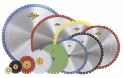 Структура алмазных дисков и их использование