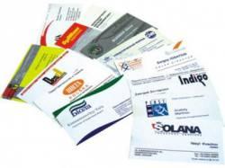 Способы печати визиток