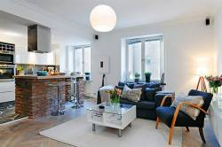 Уютный дизайн однокомнатной квартиры