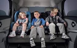 Штраф за отсутствие детского автокресла вырастет в 10 раз