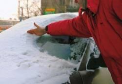 Как очистить автомобиль от снега и грязи